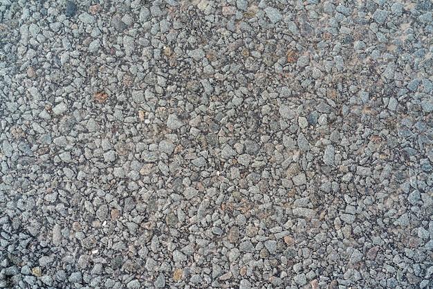 Texture of gray small stones.