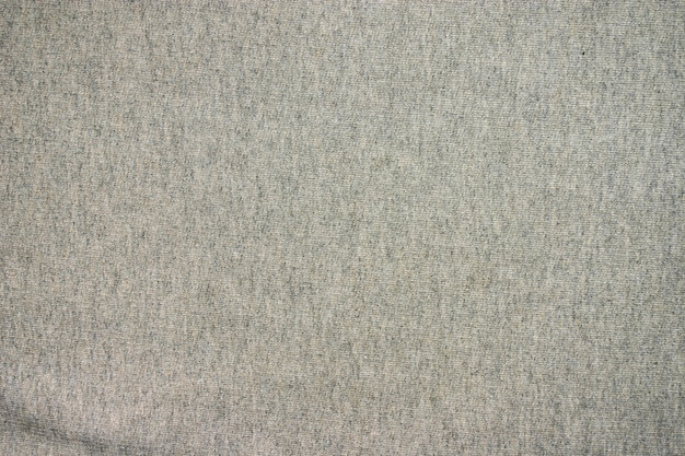 Texture of gray wool fabric.