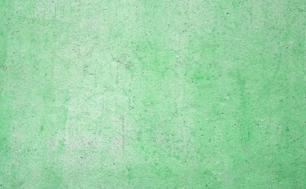Texture of green concrete wall for background.