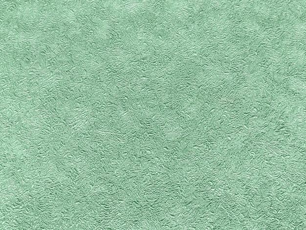 Texture of green wallpaper