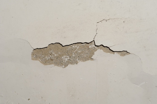 Texture image of a cracked wall in house