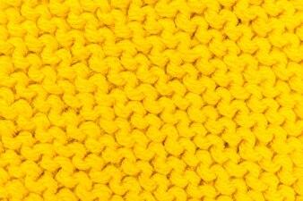 黄色のテクスチャ編み