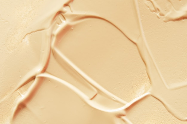 Texture of liquid foundation.