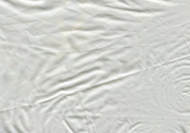 Текстура матовый белый полиэтилен