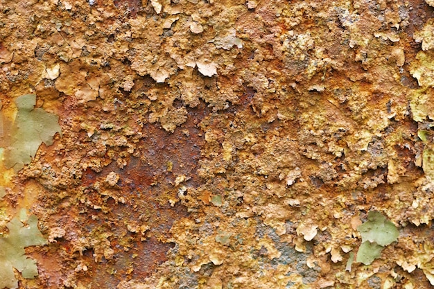 Texture of metal corrosion.