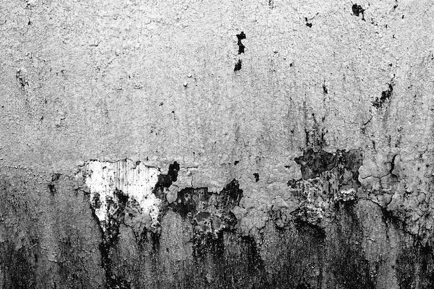 Texture of a metal wall with cracks and scratches which can be used as a background
