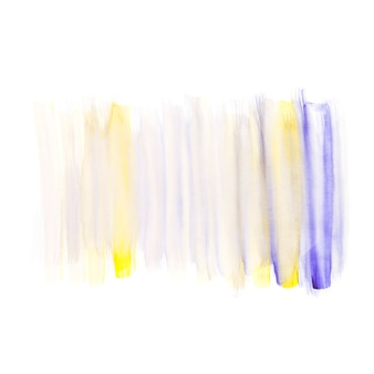 Texture of multi colored paint on white background