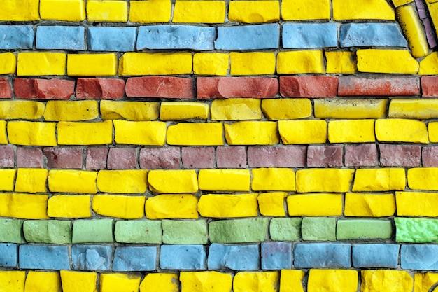 Texture of multi-colored stones