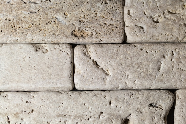 The texture of natural stone