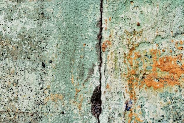 균열 및 흠집 콘크리트 벽의 질감