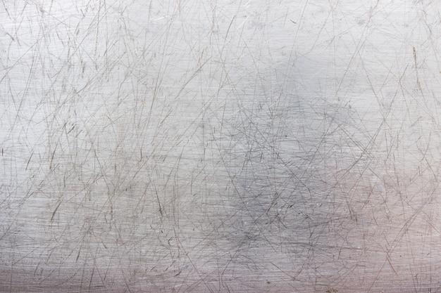 金属板の質感、薄い灰色の壁