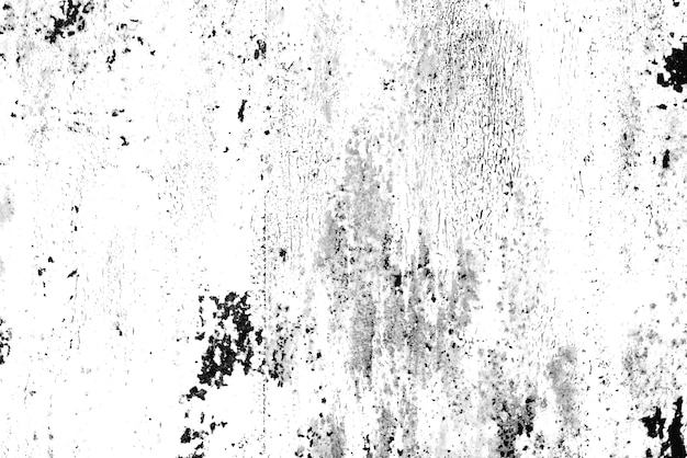 배경으로 사용할 수 있는 균열과 긁힌 자국이 있는 금속 벽의 질감