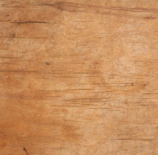 古い茶色の木製のまな板のテクスチャ