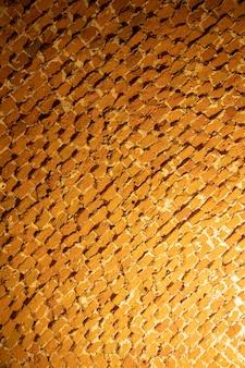 Текстура старого кирпичного потолка мягкий свет