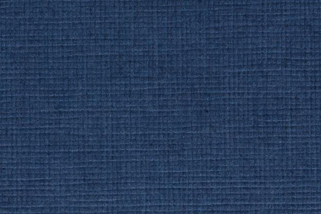 青い紙シートの質感。高解像度の写真。