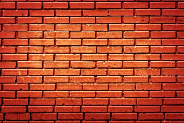 배경 벽돌 벽의 질감