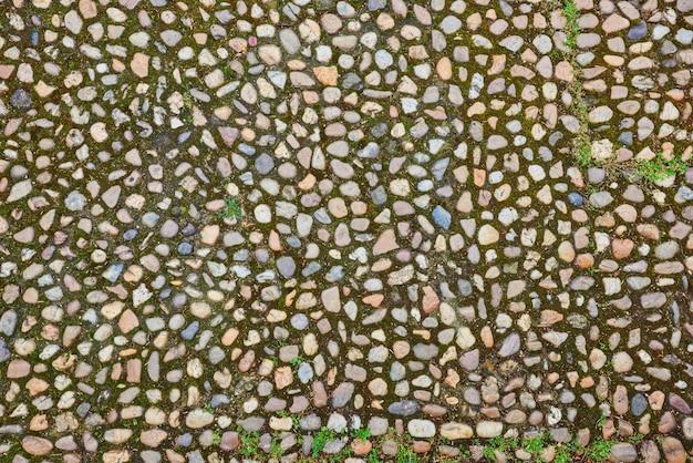 石畳の背景のテクスチャ。ブダペスト。