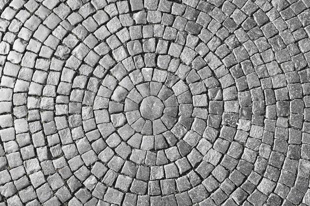旧市街の石畳の質感。
