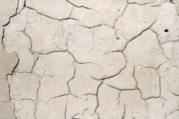 Текстура бетонной стены с трещинами. абстрактный фон