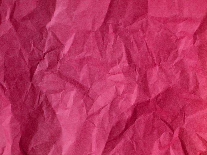 Текстура мятой бумаги крупным планом