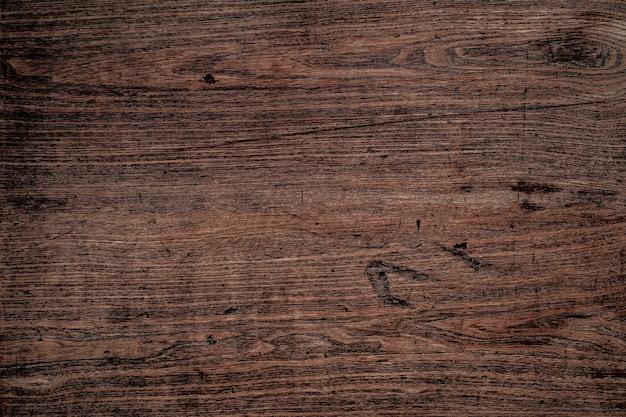 ダークブラウンの木の質感を自然の背景として使用