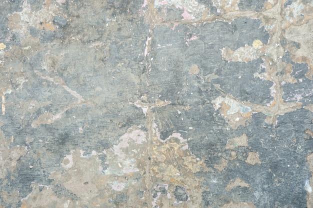 Текстура серой поврежденной стены