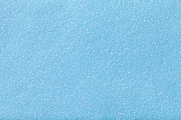 오래 된 파란 종이 배경 질감, 짙은 어두운 데님 골 판지의 구조