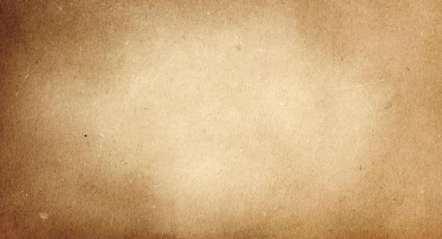텍스트를 위한 공간이 있는 오래된 갈색 빈티지 종이의 질감