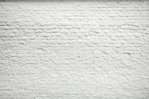 오래 된 어두운 흰색 블록, 벽돌 벽의 질감.