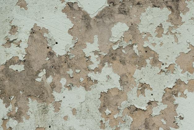 古い塗装剥離壁のテクスチャ。