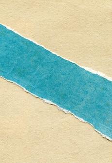 Текстура старой рваной разноцветной бумаги
