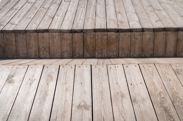 Текстура фактуры дерева старой винтажной предпосылки деревянных доск естественная.