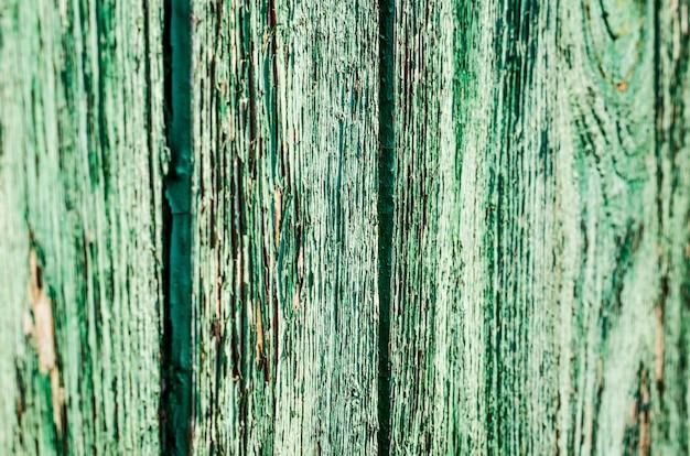 Текстура старых деревянных куч зеленого цвета
