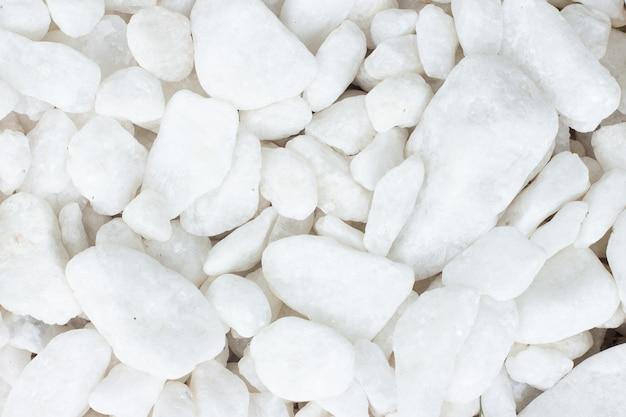 여러 흰 바위의 질감