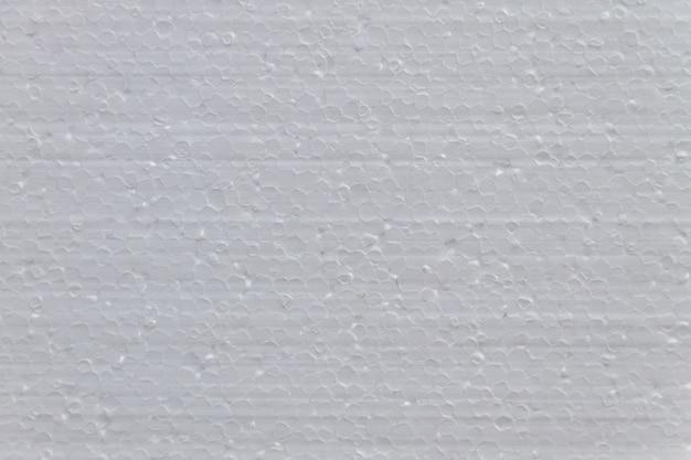배경용 흰색 스티로폼 소재의 질감