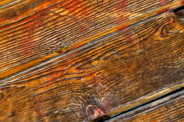 木製の壁の質感 Premium写真