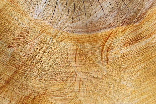 나무 그루터기의 질감입니다. 나무의 단면입니다. 배경.
