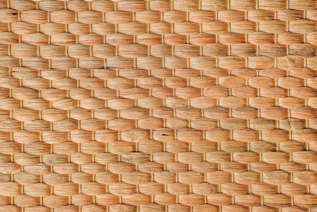 竹織りの風合い