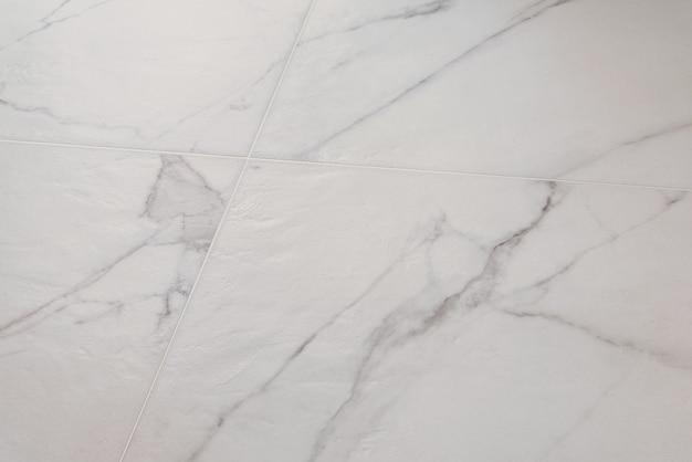 白い大理石の床の質感
