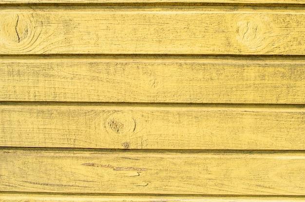 木製の黄色い板の質感。木材