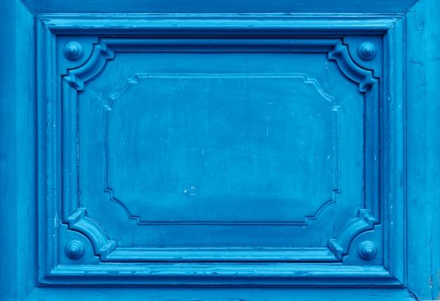Texture of old ancient wooden door.