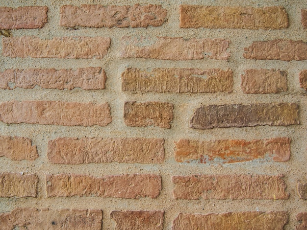 Texture of old brick wall background