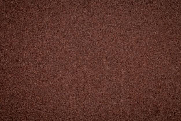 Texture of old dark brown paper background