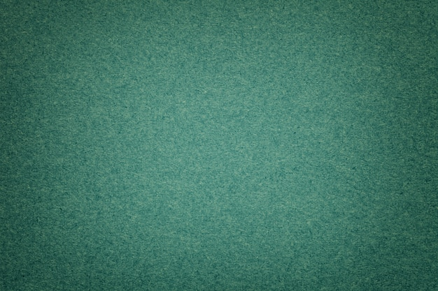Texture of old dark green paper background