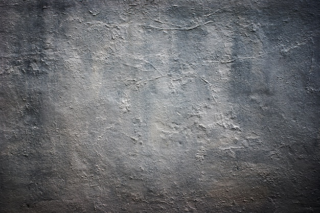 Texture of old gray concrete wall