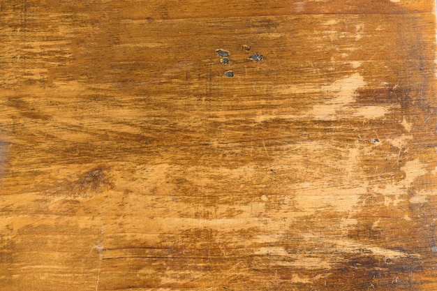 Texture of old grunge wooden table background
