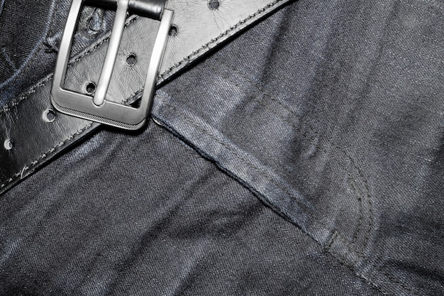 Texture the old jeans.