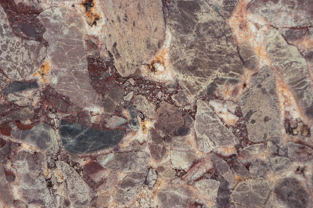 The texture of the old marble tiles