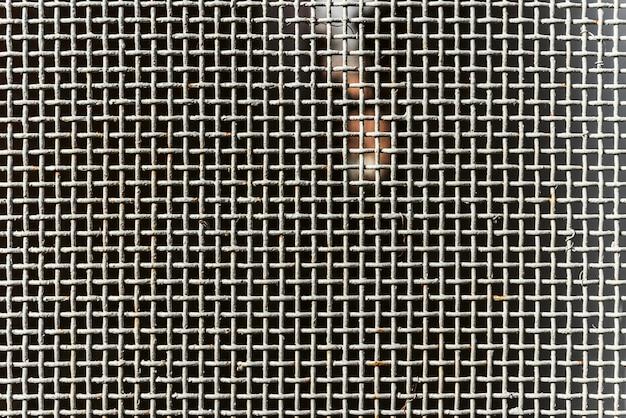 Texture old metal mesh