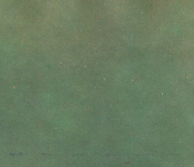 Texture of old paper in green shade of color